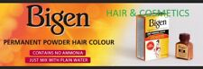 Bigen Permanent Powder Hair Dye-No Ammonia Mix with water-ALL COLOUR-FREE UK P&P