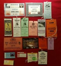 LOT OF (18) CHICAGO BULLS, WOLVES, WHITE SOX & BEARS PRESS PASSES & TICKETS