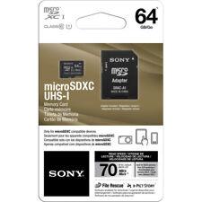 Sony 64GB UHS-I microSDXC Memory Card Class 10 Micro SD SDXC XCI XC I 70 MB/s