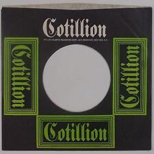 COTILLION (ATLANTIC) RECORDs: Company Sleeve USA Late 60s Orig 45 Rock