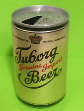 VINTAGE EMPTY BEER CAN 330ml. LATA CERVEZA - TUBORG GENUINE - 1990 (CAN143)