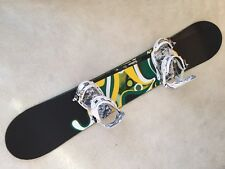 Burton Custom Snowboard (162cm) with K2 Formula Bindings In Excellent Condition