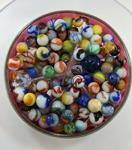 Very Nice Selection of Vintage Marbles (P)