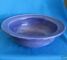 1 Pfaltzgraff STONEWASH Blue Round Salad Serving Bowl/s