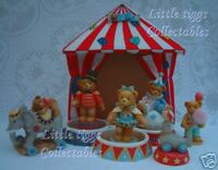Cherished Teddies Circus Collection 7 Pieces! INC Tent & Limited Edition Pieces