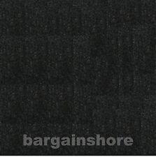 """150ft  x 48"""" Black BLK01 Polymat teardrop camper trailer & RV liner Carpet"""