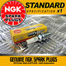 1 x NGK SPARK PLUGS 6464 FOR FORD ESCORT 1.3 (75-->80)