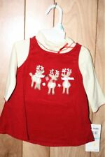 TODDLER GIRL'S B.T. KIDS 2-PIECE DRESS-SIZE: 3/6M