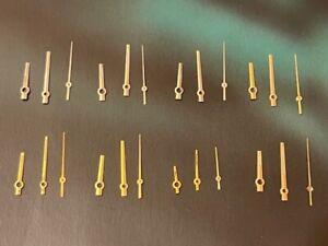 Rolex Datejust Hand set. Authentic Luminova and Tritium datejust Hands 8 sets