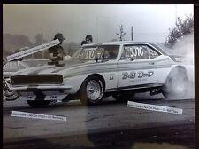 Bob Bond 8x10 Nhra Super Gas Camaro 427