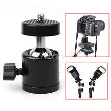 Adattatore Treppiede per 2,5kg Fotocamera Girevole 360° Supporto Testa Sfera