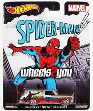 64 CHEVY NOVA DELIVERY Spider-man - Hot Wheels Pop Culture MARVEL COMICS