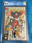 New Mutants #100 2nd print - Marvel - CGC 9.2 White Pages - 1st X-Force