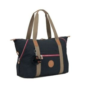 NEW Kipling Art M True Navy C Large travel tote Gym overnight bag 26L Rrp£96