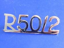 BMW R50/2 motorcycle rear fender emblem  NEW