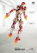 1:12 Action Figure Iron Man MK42 W/Sofa Set Comicave SDCC2016 Diecast Alloy