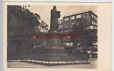 (109060) Foto AK Erfurt, Martin Luther Denkmal, vor 1945