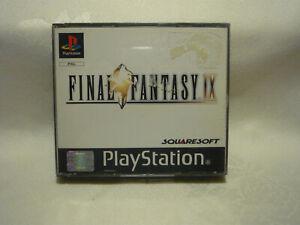 Playstation 1   PS1   PSX   Spiel Final Fantasy IX in OVP