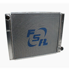 FSR Racing 2719S2-N 27.5x19 GM Chevy Aluminum Radiator 2 Row Triple Pass No Fill