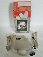 LASER 128 TV Interface, 1983. Apple IIe & IIc compatible. (See listing)