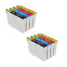 x8 cartuchos GEN impresora XXL Eps Stylus sx215 sx400 sx405 sx410 sx415 T0711
