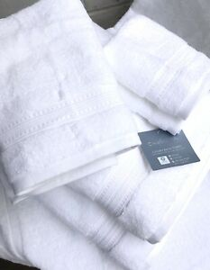 NEW Monogrammed 3 pieces towels set from CHARISMA-100% Hygro cotton - WHITE