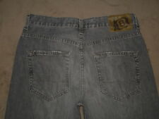 Bullhead Size 30 X 32 Relaxed Medium Gray Denim Mens Jeans
