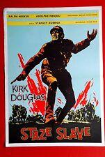 PATHS OF GLORY KIRK DOUGLAS KUBRICK 1957 WWII RARE EXYU MOVIE POSTER