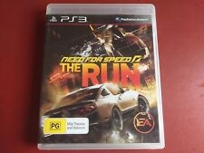 NEED FOR SPEED THE RUN PS3 PLAYSTATION 3 GAME +MANUAL  - FREE POST OZ SELLER