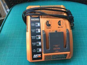 Ridgid Rapid Max 140276003 Battery Charger Tested 18v 12v 14.4v 9.6v