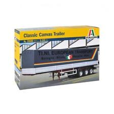 Rimorchio Classic Canvas Trailer TRUCK 1:24 MODEL KIT ITALERI 3908 scala 1/24