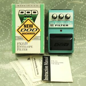 DOD FX25B Envelope Filter With Original Box Auto Wah Guitar effect pedal 638903