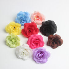10pcs 7cm Artificial DIY Silk Rose Heads Peony Flower Heads Wedding Party Decor