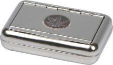Tabakdose Plakette Cannabis mit Papierhalter 9,5 x 7 cm perfekt für Tabak OVP
