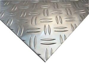 3,5/5mm Alu Riffelblech Duett Aluminium Blech Warzenblech kostenloser Versand