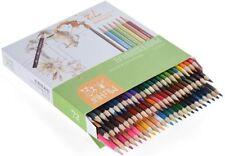 KKmoon 72 Crayons de couleur Set Aquarellables Soluble Eau peinture dessin lycée