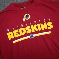 NFL Washington Redskins Red Mens XL Short Sleeve Casual Football T-Shirt
