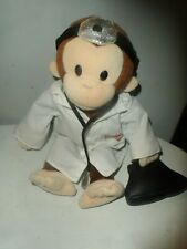 """Curious George 11"""" Plush  Doctor Monkey Dr. Applause Doll"""