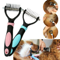 Pet Dog Cat Hair Shedding Blade Trimmer Grooming Rake Comb Brush