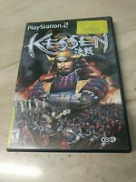 Kessen PlayStation 2 PS2 Koei
