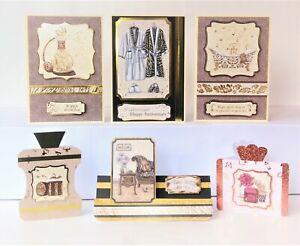 Kanban 'Spa & Safari' Card Making Kit - Toppers, Mirri, 17 Cards & Envs (388)