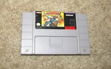 SUNSET RIDERS SUPER NINTENDO SNES VIDEO GAME CARTRIDGE TESTED WORKING ORIGINAL