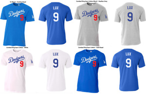 #9 Gavin Lux Los Angeles Baseball Slim Fit T-Shirt Men's or Youth Sizes