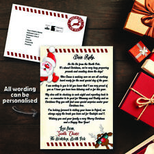 Personalised Letter from Santa | Father Christmas | Royal Mail | Direct to Child