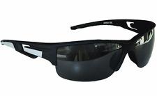Sportbrille Sonnenbrille Schwarz Grau Black Motorradbrille Radbrille BLK20024 NkwLT
