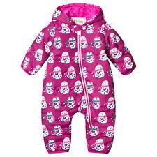 6a93f8df9f3 NEW Hatley Baby Girls Mini Winter Bundler Cuddly Penguins Size 9-12