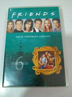 Friends Temporada Sexta 6 Completa - 4 x DVD Español Ingles Aleman Region 2