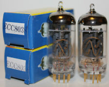 Matched Pair JJ Gold Pin ECC803S preamp tubes, BRAND NEW !