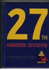 27th Armored Division New York National Guard HC published w/o DJ 1st Ed