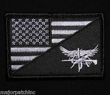 Swat Eagle Usa American Flag Us Army Morale Tactical Acu Dark Ops Velcro Patch